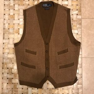 Polo by Ralph Lauren Jackets & Coats - Polo by Ralph Lauren Cashmere Vest